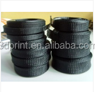 Hot sale promotional expandable black nylon braided sleeve