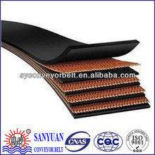 High strength fabric conveyor endless rubber belt for general use