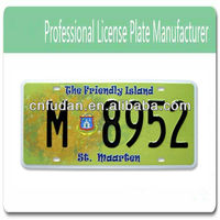 license plate reflective sheeting/decorating sign