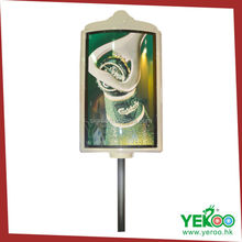 Glass fabric firm elegent design advertising boards for sale