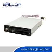 High Speed Floopy Drive to USB Converter USB simulating floppy drive USB2.0 for card reader and USB ports