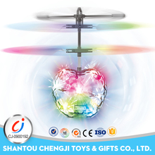Best Christmas Gifts 2017 Infrared Induction remote control mini rc led flying aeroplane toys