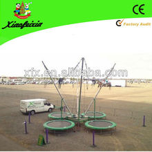 CE cerrificated Safety bungee trampoline for kids and adults