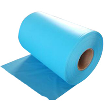 cloth like polyethylene Plastic Clear Soft raincoat film in roll