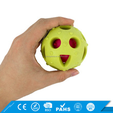 Dog Chew Ball Treat Teeth Training Pet Toy TPR Funny Ball Dog Toy
