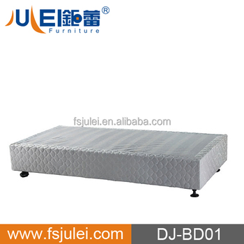 popular metal slat bed base fabric bed frame latest bed designs JL-BD01 in hot sell