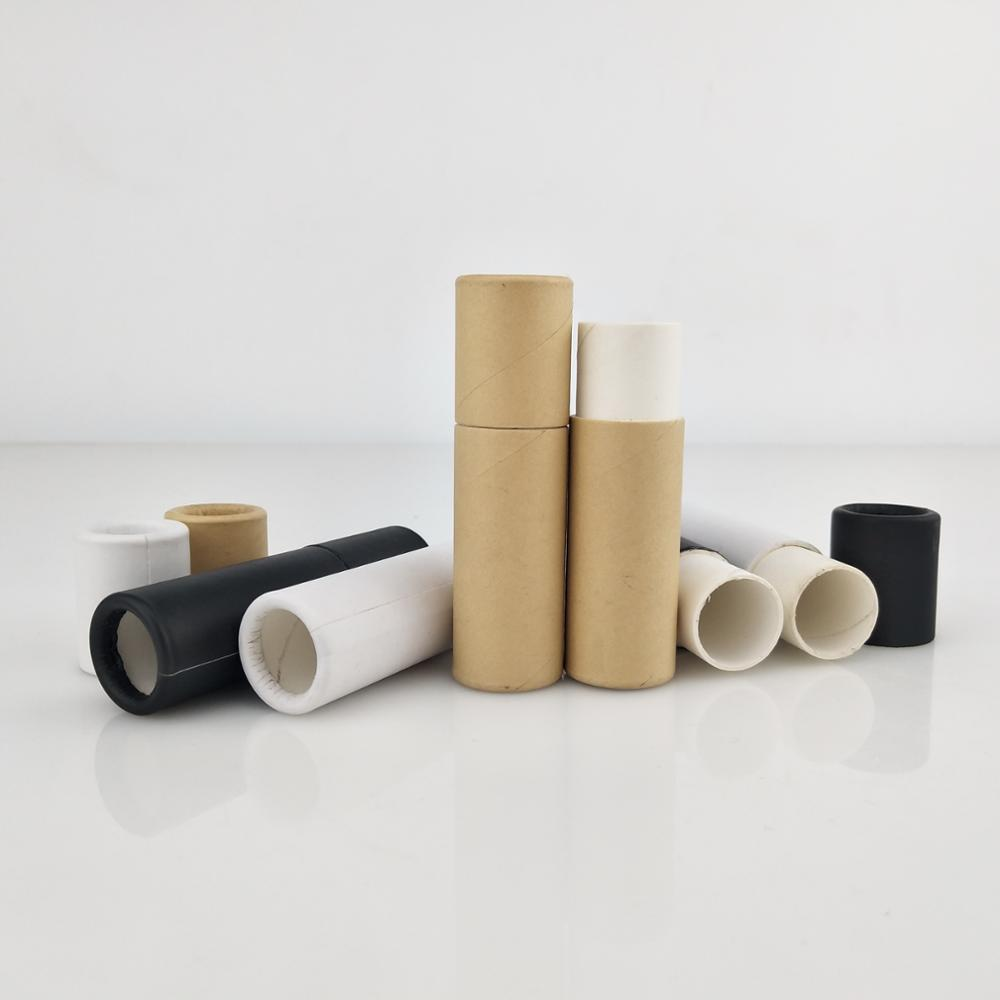 1oz eco-friendly kraft push up paper <strong>tube</strong> for lip balm stock