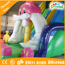 Rabbit inflatable slide