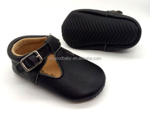 wholesale first walker toddler soft sole blacke leather kids girl mary jane shoes