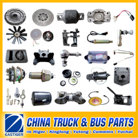 Over 600 Items HIGER/KINGLONG/YUTONG bus parts