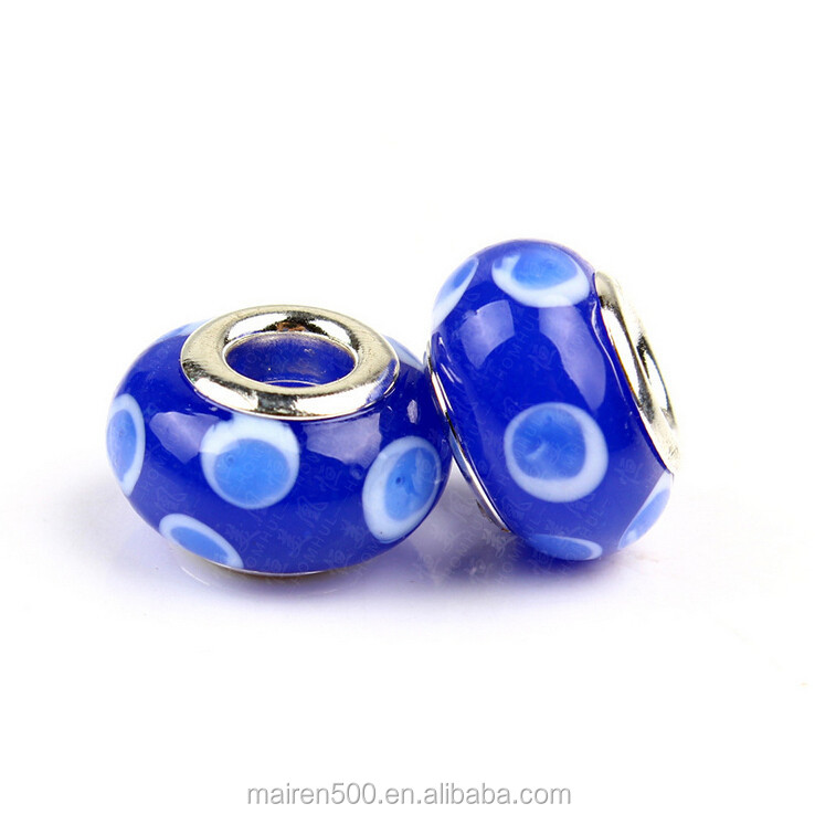 RL-77 Alibaba Hot Sell China Wholesale European style handmade lampwork glass beads