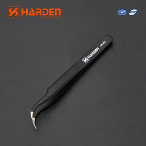 Professional Bent Nose Anti-Static Stainless Steel Tweezer