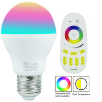 Milight Wifi Led Bulb RGBW Warm White Color Changing 6W
