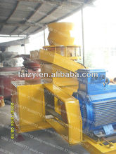 hot sale of sawdust briquette making machine with double geared and forced lubrication system 0086-18703616827