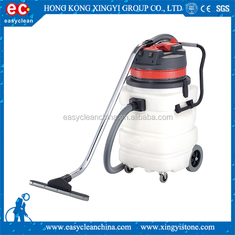 Three Motor 90L Heavy Cleaning Machine Industrial Wet and Dry Vacuum Cleaner