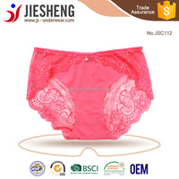 Transparent Sheer Lace Latex Rubber Laser Cut Panties for Woman Underwear