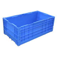 cheap price wholesale industrial stackable plastic collapsing folding crate Folding Egg Storage Crate Box totes