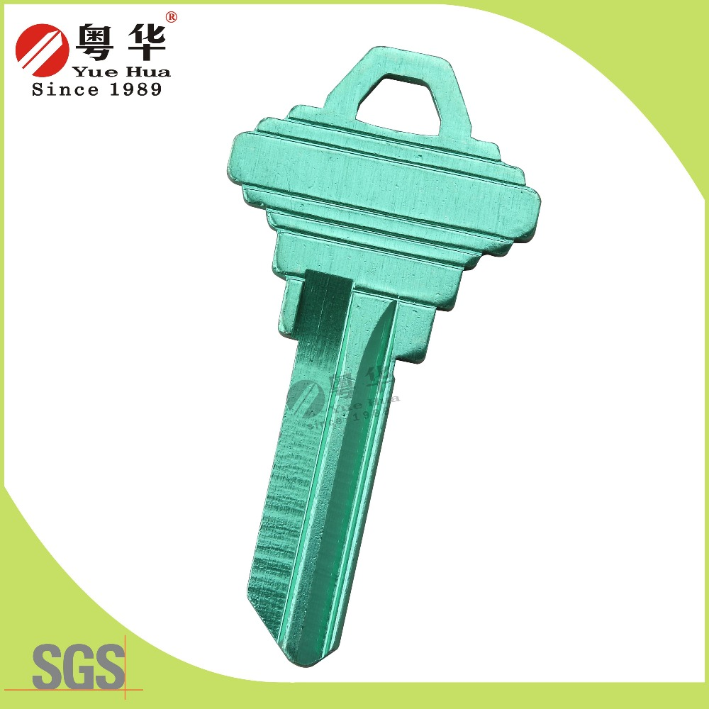 Green Color Key Blank SC1 for US Blank Key Way Door Key Lock