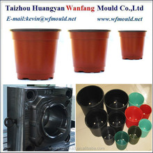 different size of flower pot mould/oem plastic flower pot injection mould/plastic mold for plant pot