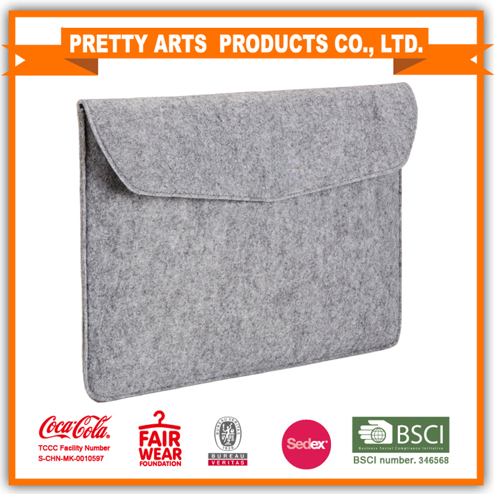 13-Inch Felt Laptop Sleeve Bag