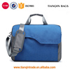 Latest Design 15.6 Inch Nylon Laptop Bag College Students Shoulder Bag With Strap Multicompartment Messenger Hand Bag Blue