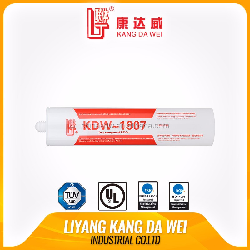 single component cure adhesive universal silicone sealants netural electronics silicone sealant adhesive liquid rubber