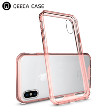 ultra slim air hybrid protective back cover tpu plastic transparent case for iphone 8