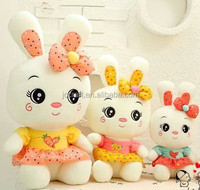 cute soft stuffed plush rabbit toy