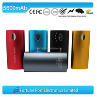 High capacity 5600mAh portable charger power bank