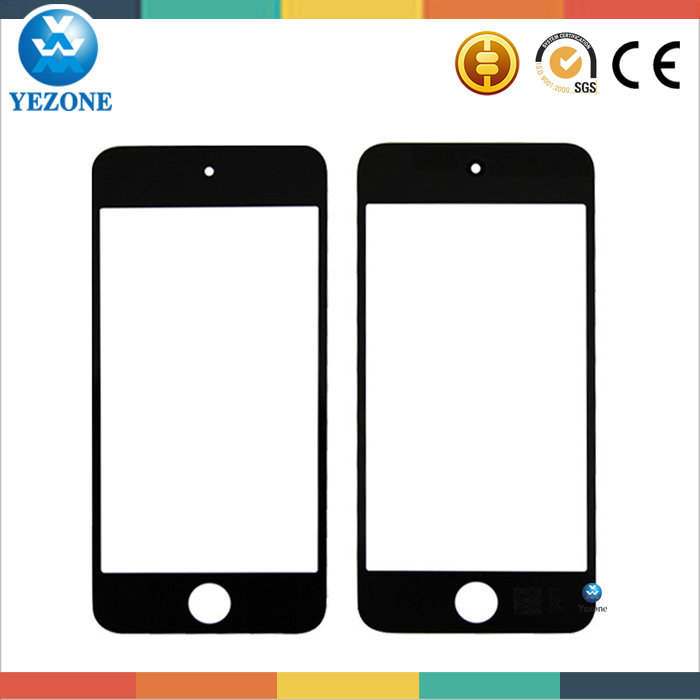 Mobile Phone Spare Parts Touch Screen Glass Lens For Ipod Touch 5