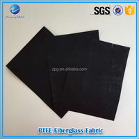 Fire retardant anti-static teflon coated fiberglass cloth