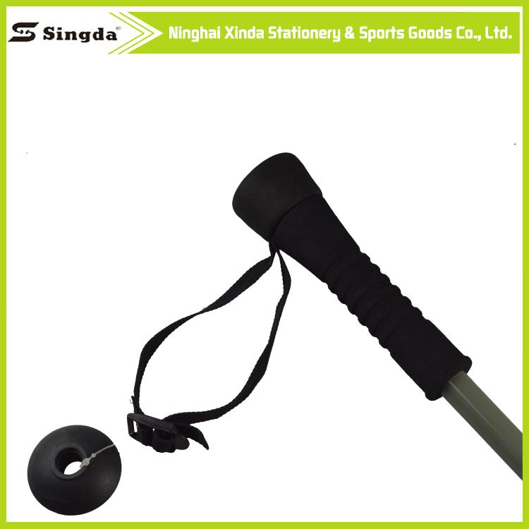 2015 good quality and competitive anti shock carbon hiking walking trekking trail poles