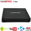 Quad-core 4K Android 5.1.1 Tocomfree TV box Amlogic S905 with built-in wifi for worldwide