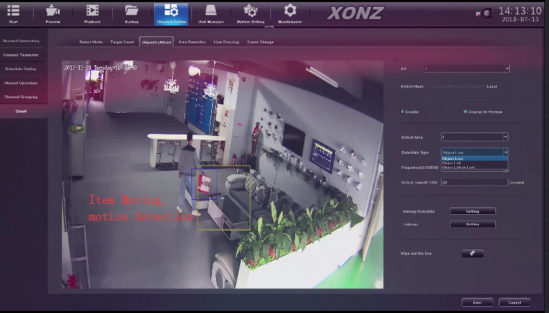 XONZ high tech 4K video real-time access NVR, security camera system 4k with camera 4k
