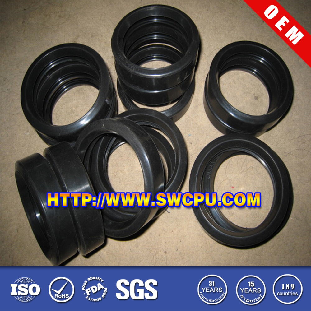 Customized Protective Black Rubber Corrugated taper Sleeve