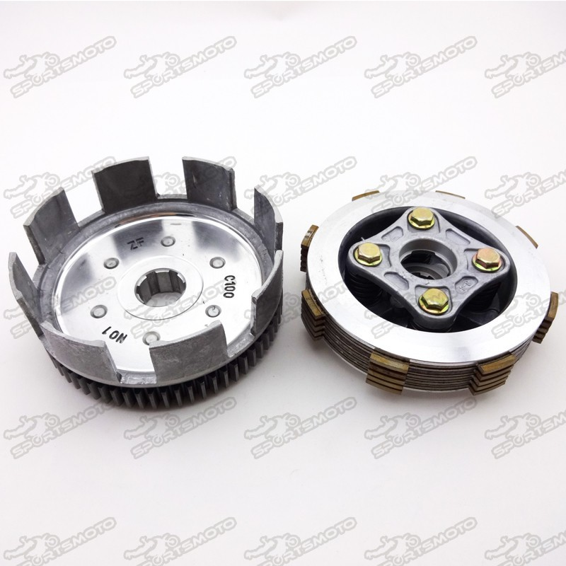 Dirt Pit Bike Wet Plates Clutch Assy For YX 150 160cc Engine