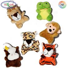 "F392 Stuffed Mini Animal Plush Toy Assortment 3"" Each Kids Party Favors Plush 3D Mini Animal"