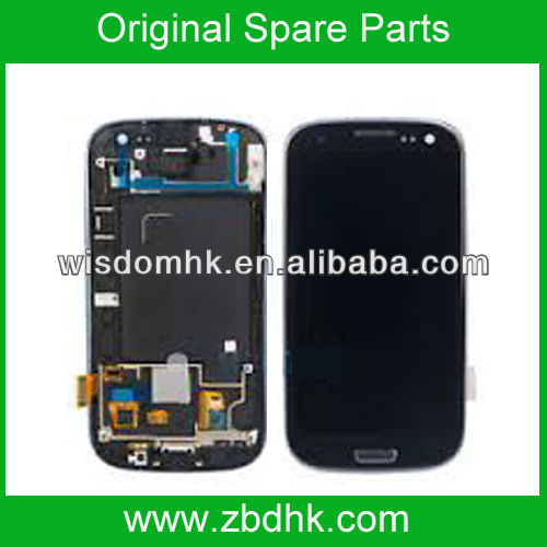 New For Samsung Galaxy S III S3 SPH-L710 LCD Display+Digitizer Touch Screen Assembly with Front Housing