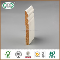 Decorative wood ceiling wooden decorative of base moulding for home decorative