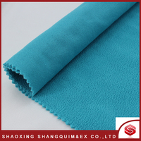 Wholesale weft knitted Anti-Static micro anti pill fleece fabric