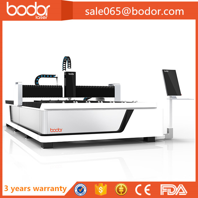 Swiss Raytools laser head fiber metal laser cutting machine with 1500*3000mm working area