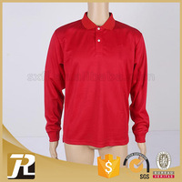 Latest Style Wholesale Solid OEM polyester long sleeve shirt