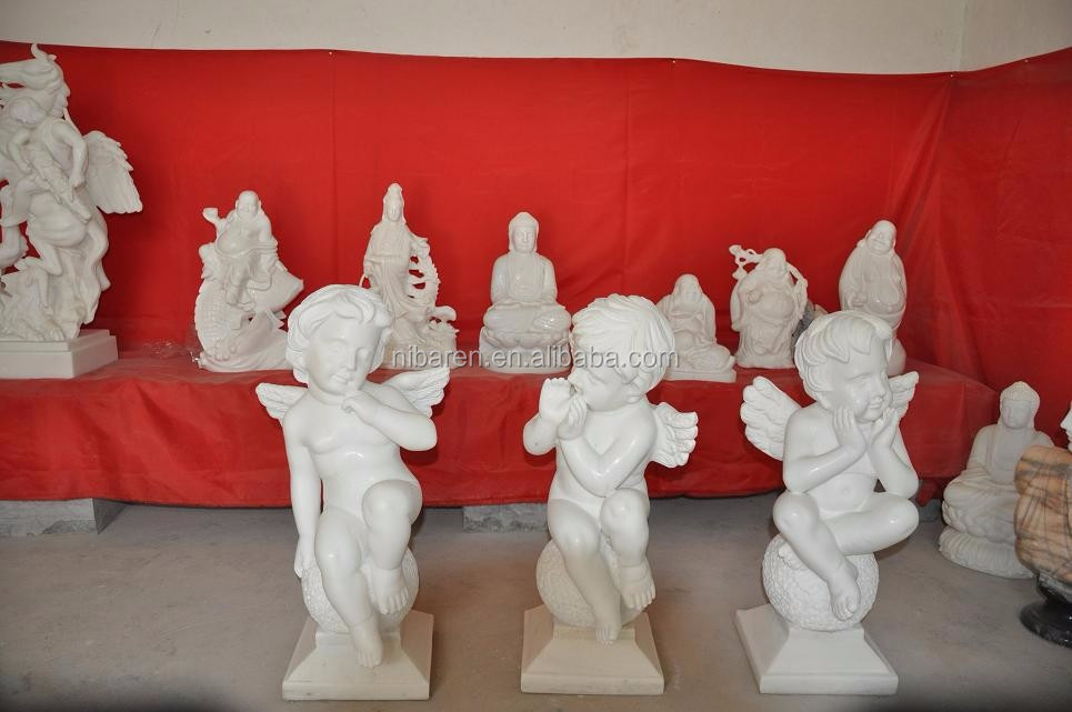 resin angel in playing violin home decoration craft