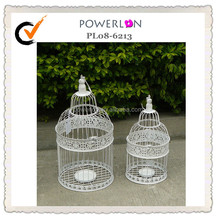newest round shabby chic iron bird cage