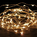 flexsible shape and stay light led copper wire string light