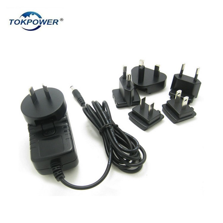 Laser hair cap power supply AC DC power adaptor 12.6v 1a medical switching adapter with IEC/EN60601