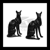black cat statue bowen designs