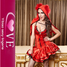 Dropshipping No Minimum Order For Halloween Sexy Red Fancy Dress Costume
