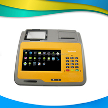 New arrival!!! 7 inch touch screen Touch Pos with keypad at the same time for e-ticket identification------Gc039D