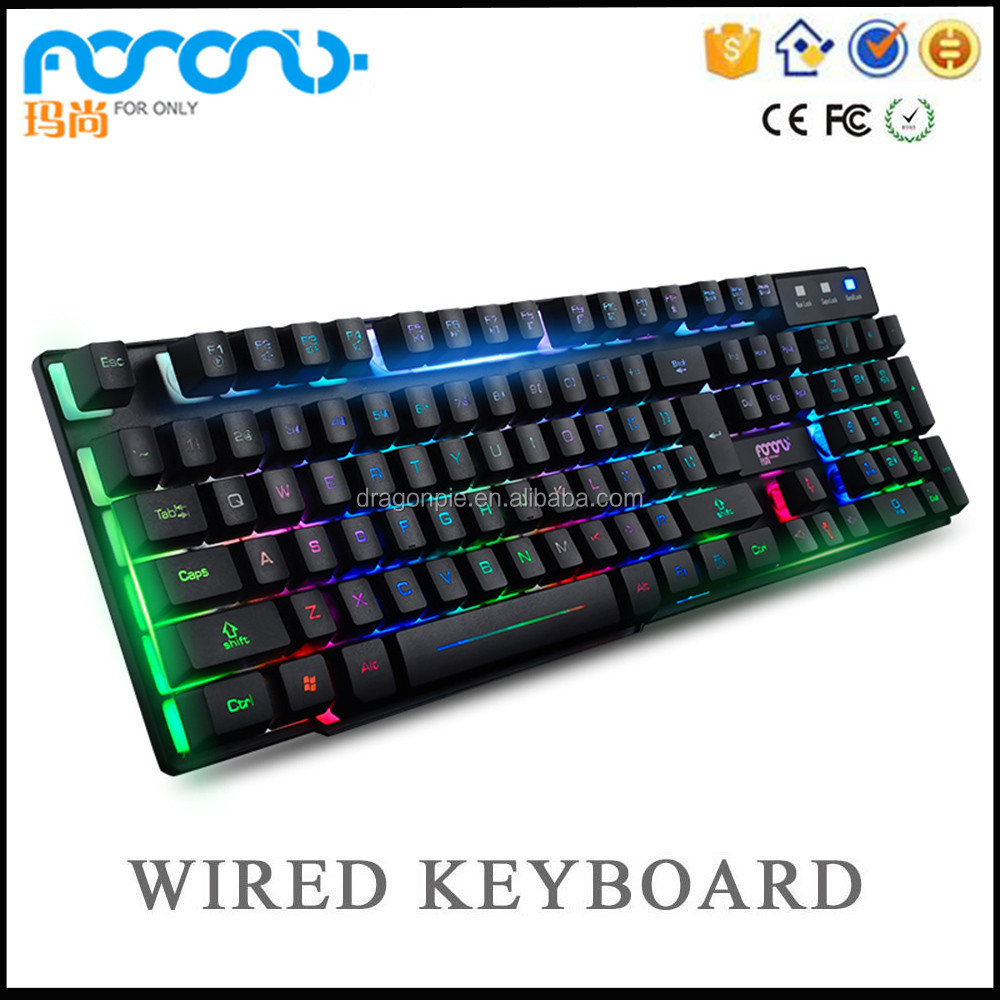 Bulk used computers keyboard usb2.0 laptop light keyboard new style design